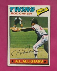 1977-TOPPS-120-TWINS-ROD-CAREW-VG-CARD-INV-A4960