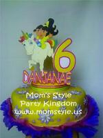 Princess Dora Topper Birthday Party Supply