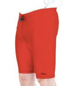 Multi-Sport-Lycra-Under-Shorts-RED-Large-38-40-034-Waist-Football-Rugby-Support