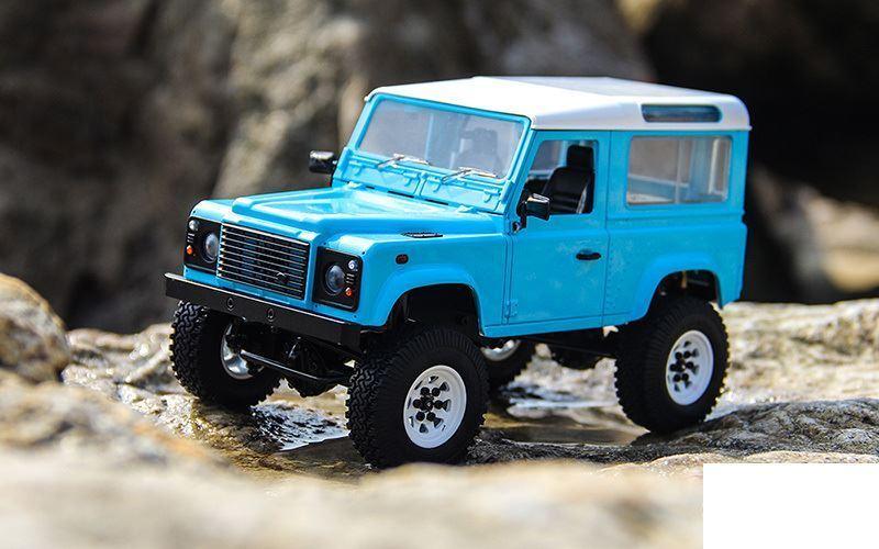 RC4WD 1 18 Gelande II RTR w  D90 Body blueE Z-RTR0039 inc Battery Charger LiPo