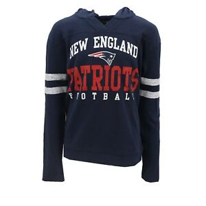 New-England-Patriots-Official-NFL-Youth-Juniors-Size-Hooded-Sweatshirt-New-Tags