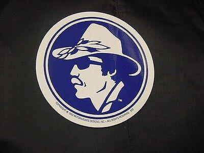 Richard Petty famous head shot trademark on a sticker