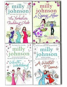 Milly-Johnson-Four-Seasons-4-Books-Collection-A-Winter-Flame-A-Spring-Affair-New