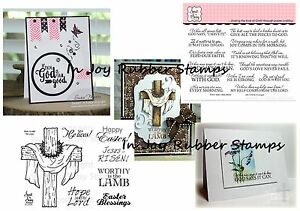 Sweet-039-n-Sassy-Christian-Clear-Stamp-Sets-Words-of-Life-Amazing-Grace-Quotes