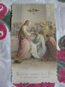 carte-religieuse-polychrome-1915-Souvenir-Communion-C-Lang-Dijon-chromo