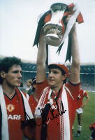 Manchester United Hand Signed Norman Whiteside Photo 12x8 5.
