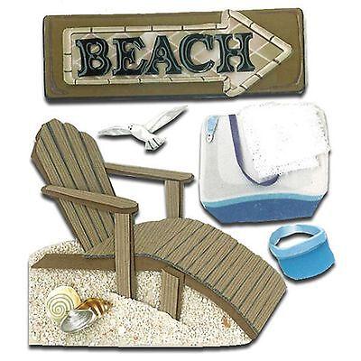 Jolee's BEACH HOUSE Stickers SUMMER VACATION GETAWAY OCEAN