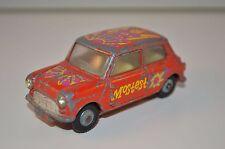 """Corgi Toys 349 Morris Mini Minor """"Pop Art"""" Mini Mostest very scarce model"""