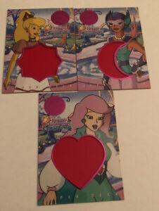 1996 Upper Deck Princess Gwenevere Jewel Readers Set (3)