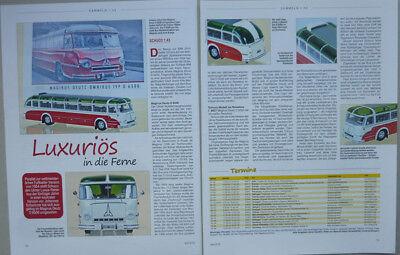 ' 54 Magirus-deutz O 6500 Bus In 1-43 Di Schuco... Un Modello Relazione #2015-mostra Il Titolo Originale Il Massimo Della Convenienza