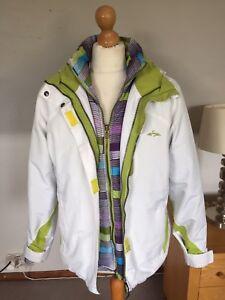 Jacket Blu Bianco Uk Body Ladies Double Sportek 10 Warmer M 12 Viola Taglia qw6SRBAx