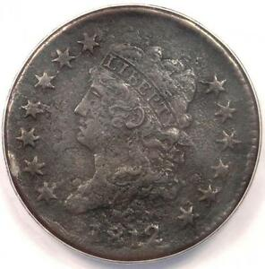 1812-Classic-Liberty-Large-Cent-1C-Coin-ANACS-VF30-Details-Rare-Date-Penny