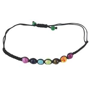 7-Chakra-Healing-Balance-Perlen-Armband-Yoga-Leben-Energie-Armband-Liebhabe-C7J9