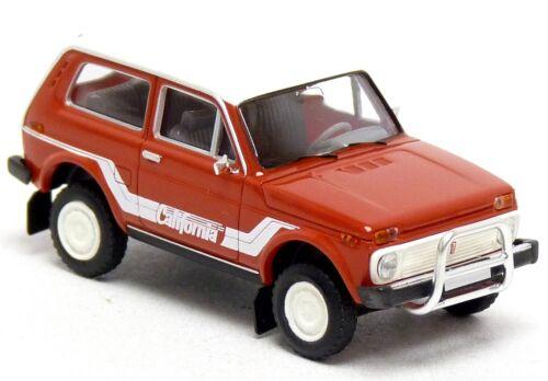 Brekina Geländewagen PKW Modelle Auswahl Einsatzfahrzeuge 1:87 H0 Lada Niva