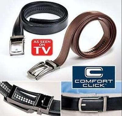 "Belts 2017 Comfort Click Belt For Men Automatic Lock Belts 28""-48"" As Seen On Tv Let Our Commodities Go To The World Us"