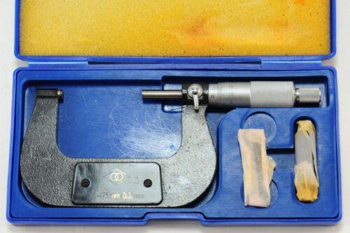50-75mm Outside Micrometer
