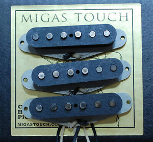 Fender-Stratocaster-039-65-Vintage-Pickups-Set-Hand-Wound-by-Migas-Touch-Strat-2