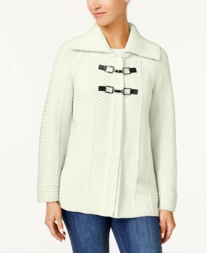 Jm Eggshell Toggle Medio Collection mujer Sweater para Cardigan FFHrvqx