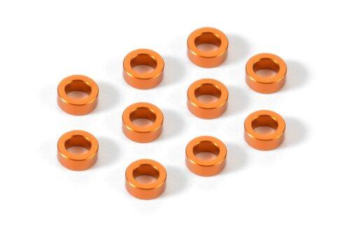 Xray Aluminum Shim 3x5x2.0mm 10 Orange - XRA303140-O
