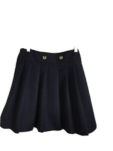 French Toast Girls Stretch Contrast Waistband Scooter School Uniform Skirt