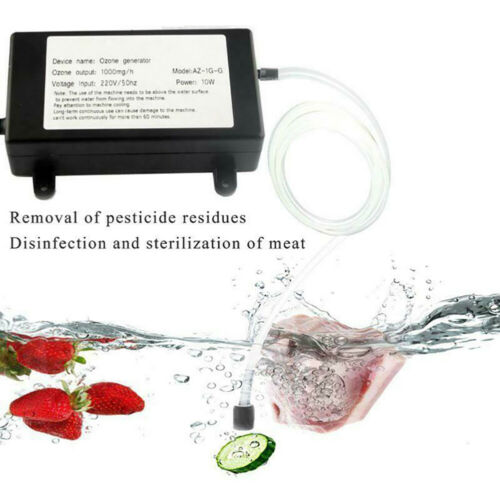 Details about  /1000mg Ozone Generator Ozonizer Water Air Purifier Cleaner Treatment A