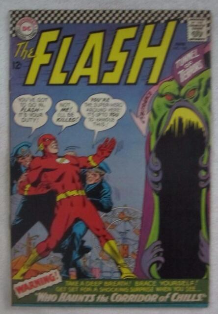 The Flash #162 (Jun 1966, DC) Infantino pencils VG/F 5.0