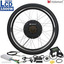 48V 1500W Rear Wheel Electric Bicycle Motor Conversion Kit E Bike Cycling w// LCD