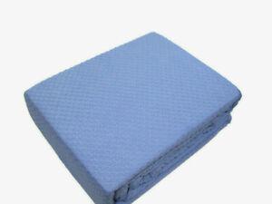 Royal Velvet Ring Spun Textured Weave Blue With Grayish King