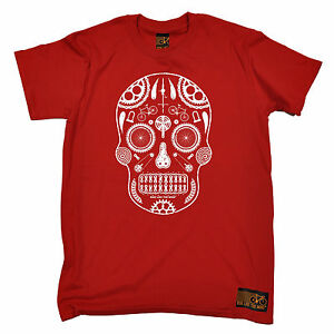 Skull-Made-From-Bike-Parts-T-SHIRT-tee-cycling-jersey-funny-birthday-gift-123t