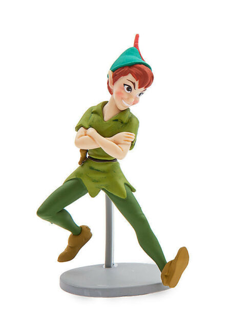 Disney Store Peter Pan Toy Village PVC Figure Figurine Birthday Cake Topper