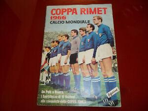 ALBUM-COPPA-RIMET-1966-ed-LAMPO-VERBANIA-ORIGINALE-WC-1966-con-69-carte