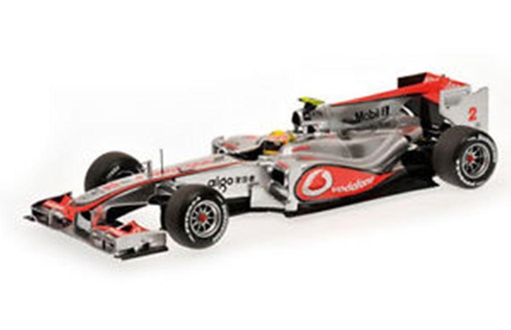 MINICHAMPS 104301 104302 McLAREN MP4-25 F1 race cars 2010 Button Hamilton 1 43rd