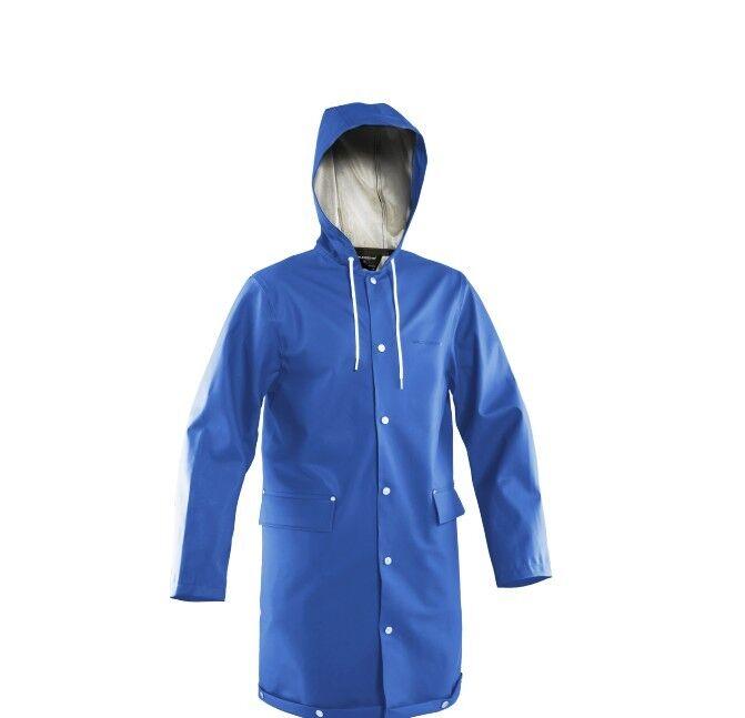 Grundens Sandön 345 Coat XL blu IMPERMEABILE RAINCOAT Proibirel Stutterheim Sandon
