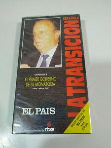Primer-Gobierno-de-Monarquia-La-transicion-Espanola-RTVE-VHS-Cinta-Tape-Nueva
