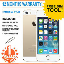 Apple iPhone 5s 64GB Factory Unlocked - CHAMPAGNE GOLD