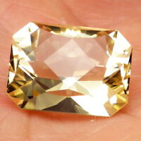 Gold-yellow Oregon Sunstone 11.36ct Flawless-perfect Faceting-for Top Jewelry