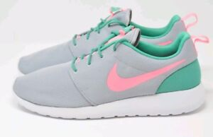 28e325931a50b Nike Roshe One Run South Beach Green Pink 511881-036 Size 13 Sport ...