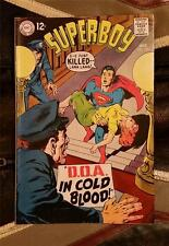 SUPERBOY No.151 * SILVER AGE * OCT 1968 12c DC COMICS * D.O.A. in COLD BLOOD