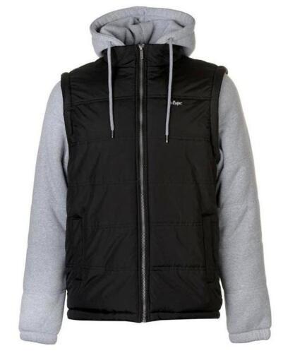 Lee Cooper mens long sleeved sweater gilet jacket hoodie hoody RRP £72.99