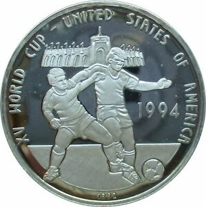 Cambodia 20 Riels 1991 Football World Cup 1994 Proof