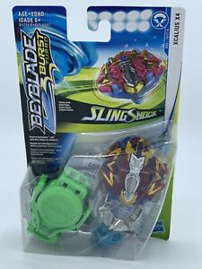 BEYBLADE-Burst-Turbo-Slingshock-Xcalius-X4-Starter-Pack-NEW-SHIPPED-IN-A-BOX