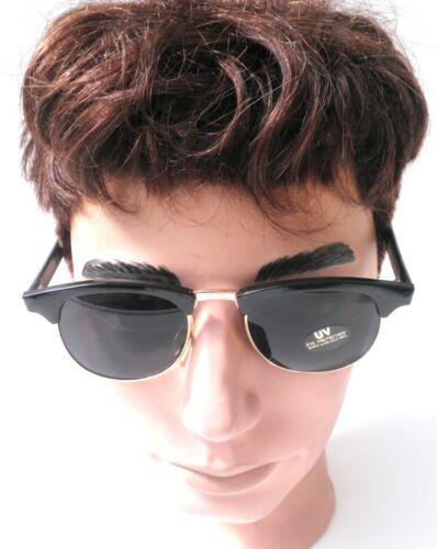 Retro Sonnenbrille 60er Jahre Vintage in Schwarz// Graublau  Vintage UNISEX