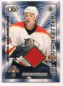 2004/5 Heads Up Jersey Jay Bouwmeester Florida Panthers #460/1200