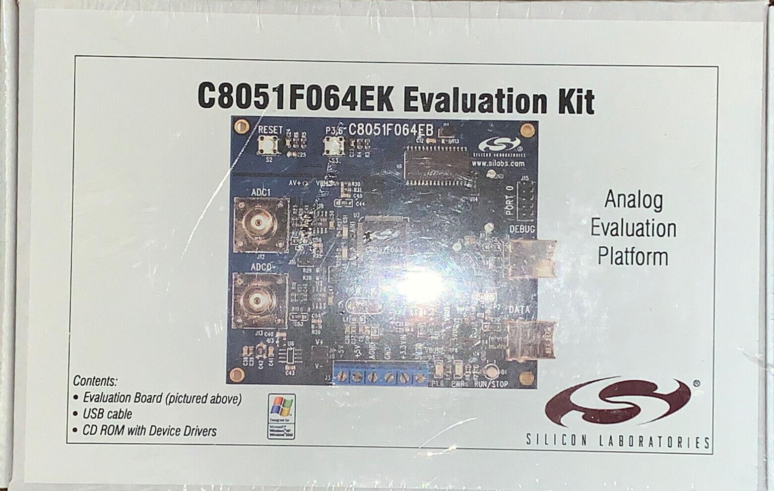 Silicon Laboratories C8051F064EK Evaluation Kit New Sealed