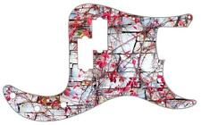 P Bass Precision Pickguard Custom Fender 13 Hole Guitar Pick Guard Pink Ivy