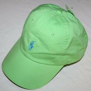 NEW NWT Mens Polo Ralph Lauren Baseball Hat Cap Pony Logo Adjustable ... 3e3c4eb4e51c