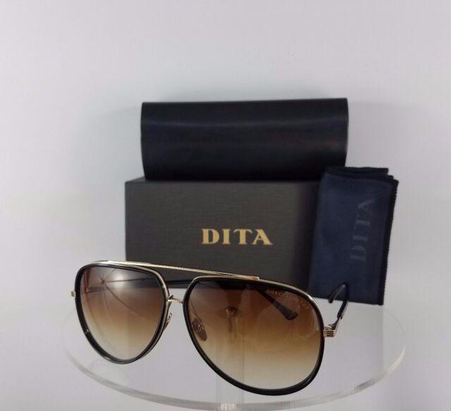 50c0b8adcd1d Brand New Authentic Dita Sunglasses Condor Two 21010-E-BLK-GLD 62mm Frame