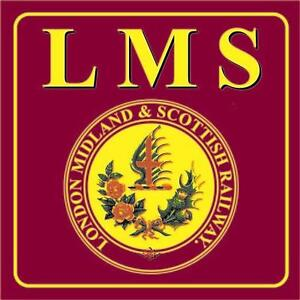 RAILWAY-SIGN-LMS-LONDON-MIDLAND-amp-SCOTTISH-RAILWAY