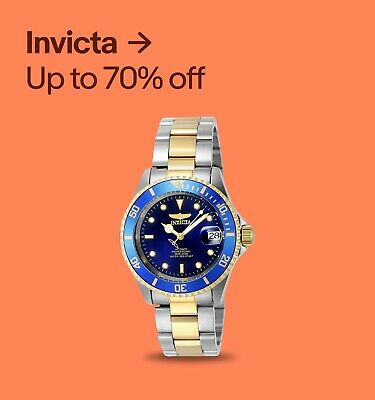 Invicta Up to 70% off