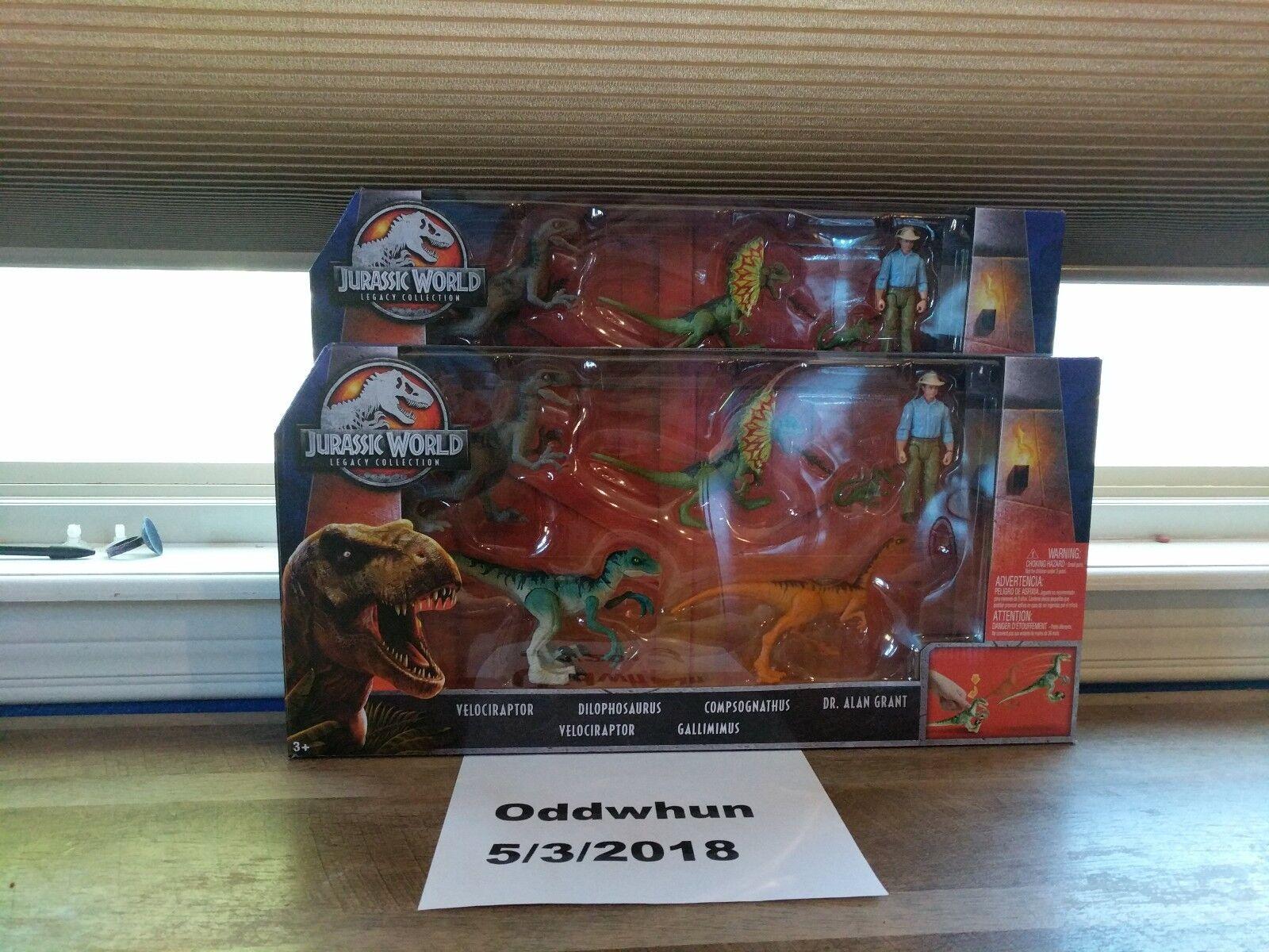 Mattel Jurassic World 2 paquete Alan Grant caído Reino Legacy Exclusivo Target